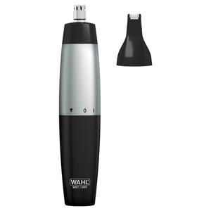 Trimmer nas/ urechi / sprancene WAHL 5560-1416, Wet&Dry, 2 capete, negru-argintiu