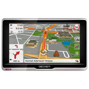 "Sistem de navigatie GPS BECKER Transit 5, Europa (truck), 5"", 8GB, microSD"