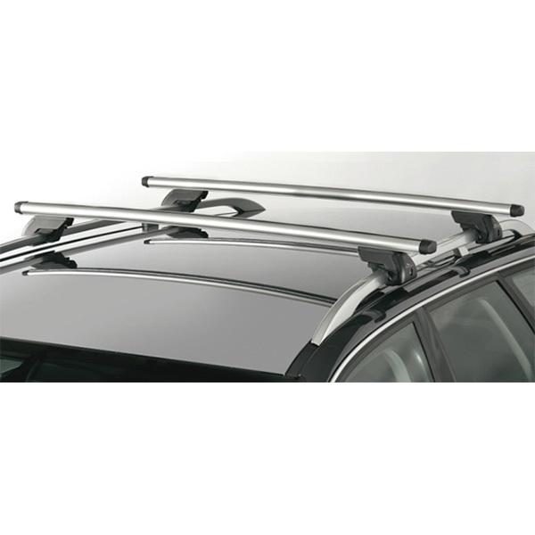 Bare transversale aluminium Green Valley 156 947, 147cm, antifurt