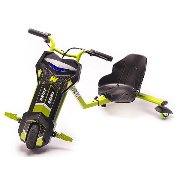 Tricicleta electrica FREEWHEEL Drift Trike V2, 8 inch, green