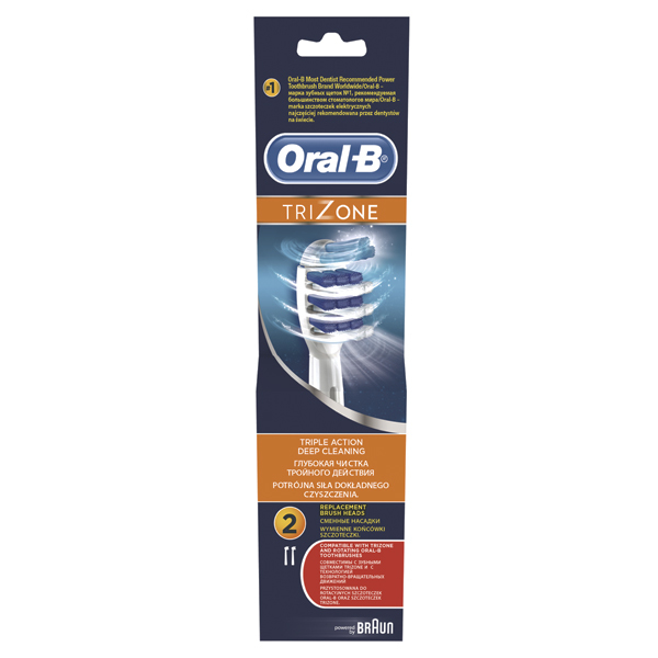 Rezerve periuta de dinti electrica ORAL-B TriZone EB30, 2buc