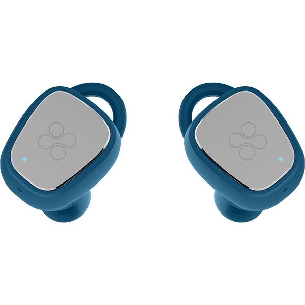 Casti PROMATE TrueBlue-2, True Wireless Bluetooth, In-Ear, Microfon, albastru