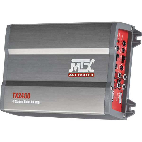 Amplificator auto MTX TX2450, 4 canale, 220W RMS