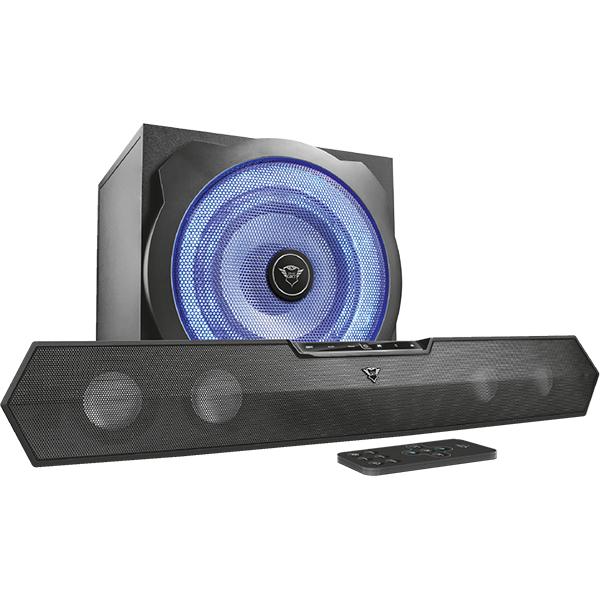 Soundbar TRUST GTX 668 TYTAN, 2.1, 60W, negru