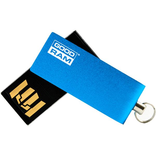 Memorie portabila GOODRAM UCU2-0640B0R11, 64GB, USB 2.0, albastru