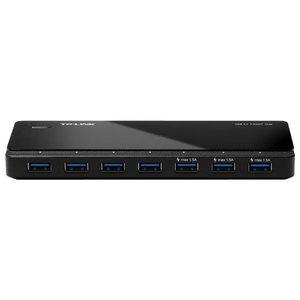 Hub USB TP-LINK UH700, 7 x USB 3.0, negru