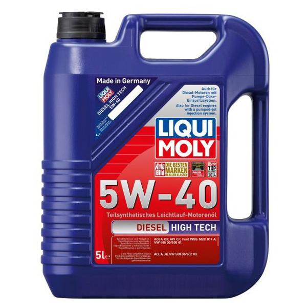 Ulei motor LIQUI MOLY Diesel HighTech 2696, 5W40, 5l