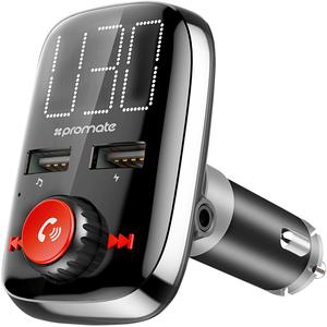 Modulator FM cu Bluetooth PROMATE SMARTUNE-3, 2 x USB, Jack 3.5