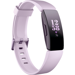 Bratara Fitness FITBIT Inspire HR FB413LVLV, Android/iOS, silicon, Lilac