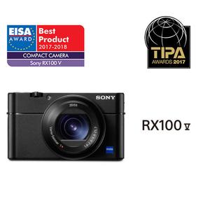 Camera foto digitala compacta SONY Cyber-shot DSC-RX100M5, 20.1 MP, 2.9x Zoom Optic, negru