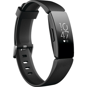 Bratara Fitness FITBIT Inspire HR FB413BKBK, Android/iOS, silicon, Black