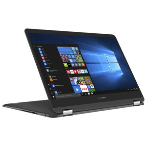 "Laptop 2 in 1 ASUS ZenBook Flip S UX370UA-C4095T, Intel® Core™ i7-7500U pana la 3.5GHz, 13.3"" Full HD, 16GB, SSD 256GB, Intel® HD Graphics 620, Windows 10"