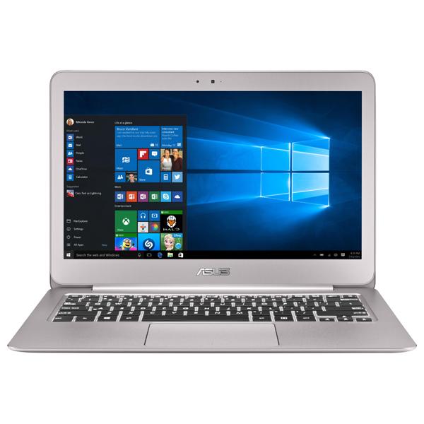 "Ultrabook ASUS ZenBook UX306UA-FB113T, Intel® Core™ i5-6200U pana la 2.8GHz, 13.3"" QHD+, 8GB, SSD 512GB, Intel® HD Graphics 520, Windows 10"