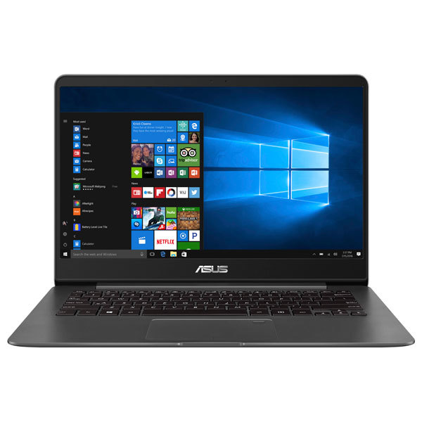 "Ultrabook ASUS ZenBook UX430UN-GV073R, Intel® Core™ i7-8550U pana la 4.0GHz, 14"" Full HD, 16GB, SSD 256GB, NVIDIA GeForce MX150 2GB, Windows 10 Pro"