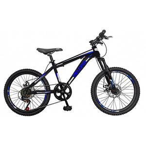 "Bicicleta de copii MTB VELORS V2009A, 20"", otel, negru/albastru"