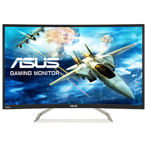"Monitor Gaming ASUS VA326H, 31.5"" Curved, Full HD, negru"