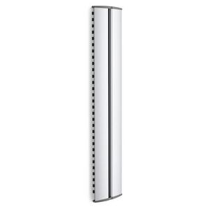 Suport acoperire cabluri VOGEL'S Cable 10 M, 64 cm, argintiu