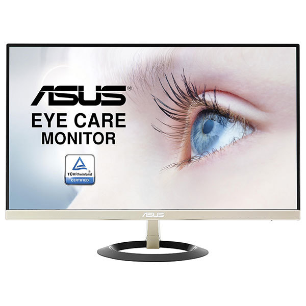 "Monitor LED IPS ASUS VZ249Q, 23.8"", Full HD, Icicle Gold - Black"