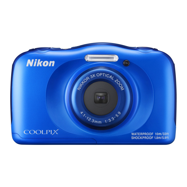 Camera foto digitala NIKON Coolpix W100, 13.2Mp, 3x, 2.7 inch, Blue