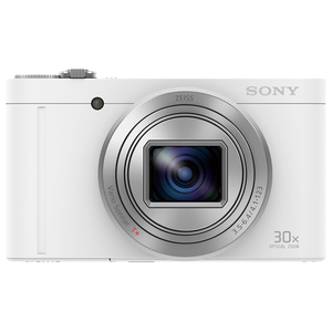 Camera foto digitala Cyber-shot SONY DSC-WX500W, High Zoom, 30x Zoom Optic, 18.2 Mp, 3 inch, alb