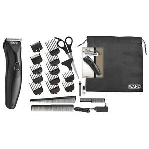 Aparat de tuns capilar/barba WAHL 9639-816, acumulator/retea, 1.5-25 mm, negru