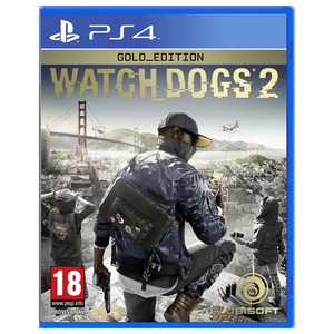 Watch Dogs 2 Gold Edition PS4