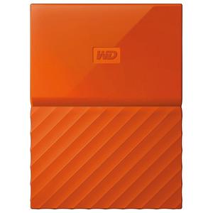 Hard Disk Drive WD My Passport WDBYNN0010BOR, 1TB, USB 3.0, portocaliu