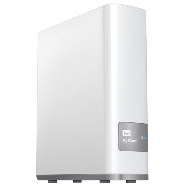 Network Attached Storage WD My Cloud WDBCTL0080HWT, 8TB, argintiu