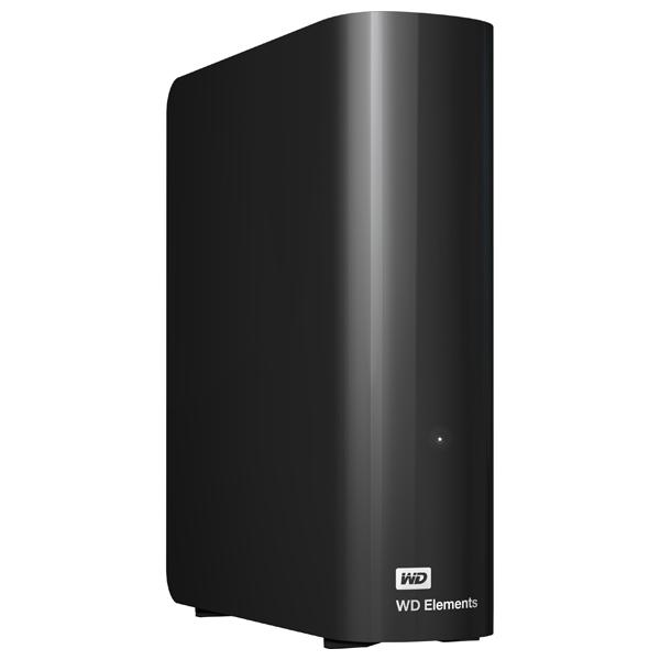 Hard Disk Drive extern WD Elements WDBWLG0020HBK, 2TB, USB 3.0, negru