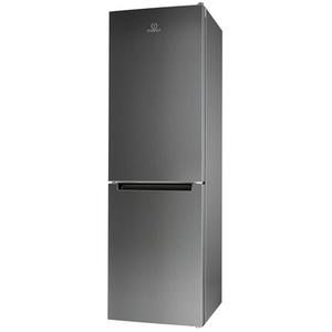 Combina frigorifica INDESIT LR9 S1Q FX, Low Frost, 371 l, H 201 cm, Clasa A+, inox