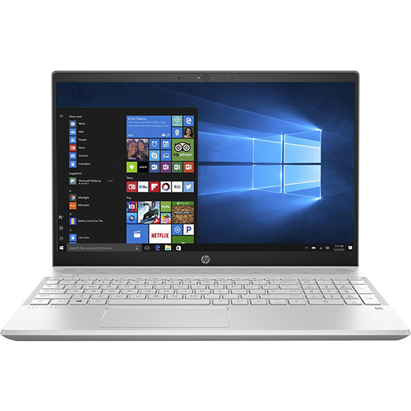 "Laptop HP Pavilion 15-cs0009nq, Intel Core i5-8250U pana la 3.4GHz, 15.6"" Full HD, 8GB, HDD 1TB + SSD 256GB, NVIDIA Geforce MX130 2GB, Windows 10 Home"