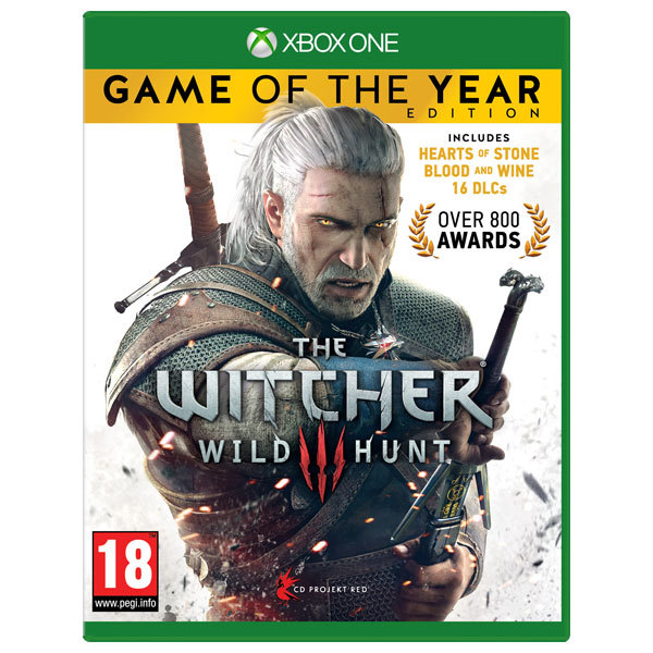 The Witcher 3: Wild Hunt Game of the Year Edition Xbox One