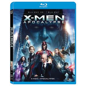 X-Men: Apocalypse Blu-Ray 3D+2D