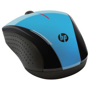 Mouse Wireless HP X3000 K5D27AA, 1200 dpi, albastru