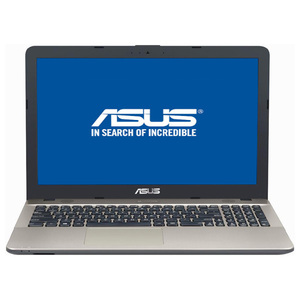 "Laptop ASUS X541UA-GO1372, Intel Core i3-7100U 2.4GHz, 15.6"" HD, 4GB, 1TB, Intel HD Graphics 620, Endless"