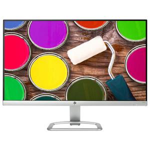 """Monitor LED IPS HP 24ea, 24"""", Full HD, 60Hz, argintiu-alb"""