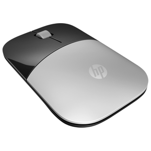 Mouse Wireless HP Z3700, 1200 dpi, negru-argintiu