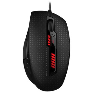 Mouse Gaming HP Omen X9000, 8200 dpi, negru