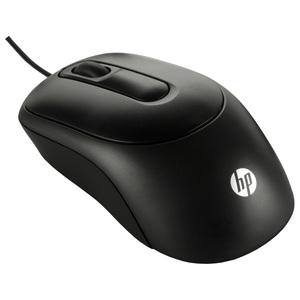 Mouse cu fir HP X900, 1000 dpi, negru