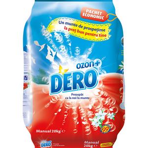 Detergent manual DERO Ozon Roua Muntelui, 20kg, 400 spalari