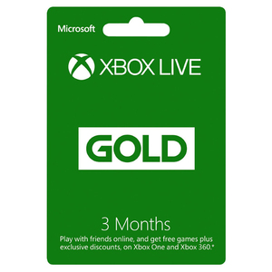 Card Xbox Live GOLD 3 luni Xbox 360 / Xbox One