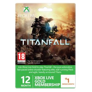 Card Xbox Live Gold 12 luni+1 luna Xbox 360/Xbox One