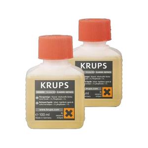 Decalcifiant pentru espressor KRUPS XS900031, 2 x 100ml
