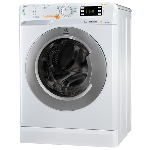 Masina de spalat rufe cu uscator INDESIT XWDE 961480X WSSS EU, 9/6kg, 1400rpm, A, alb