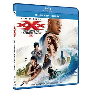 Triplu X: Intoarcerea lui Xander Cage Blu-ray 3D+2D