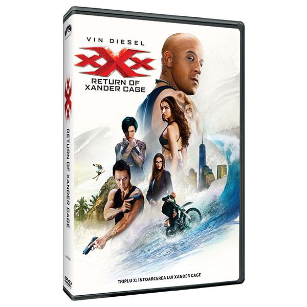 Triplu X: Intoarcerea lui Xander Cage DVD