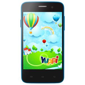 "Telefon EVOLIO Yuppi, 3.5"", 5MP, 512 MB RAM, 4GB, 3G, Dual Core, Blue"