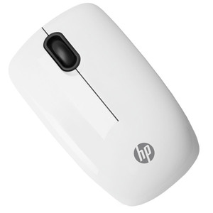 Mouse Wireless HP Z3200, 1600 dpi, alb