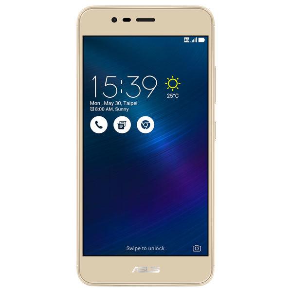 Telefon ASUS ZenFone 3 Max ZC520TL, 32GB, 3GB RAM, Dual SIM, Sand Gold