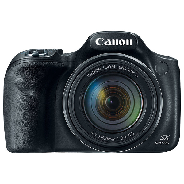 Camera foto digitala CANON PowerShot SX540 HS, 20.3 MP, Full HD, Wi-Fi, negru